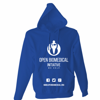 Felpe Open Biomedical Supporter 30€