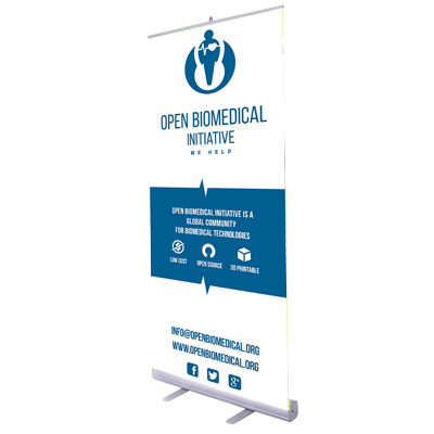 Roll-Up Open Biomedical 60€
