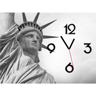 Orologio da parete - 50  x 70 cm