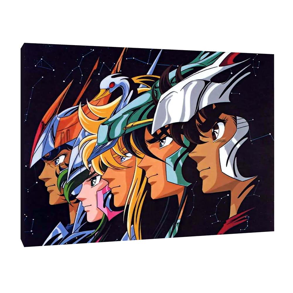 Cavalieri dello Zodiaco - Quadro Moderno Stampa su Tela Canvas 40x30 cm